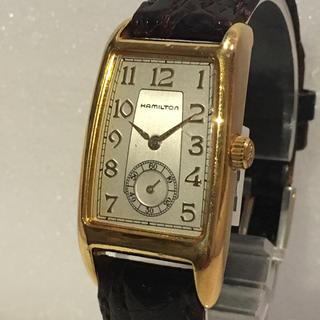 ハミルトン(Hamilton)のHAMILTON ハミルトン クラシックモデル 6240 クオーツ 腕時計(腕時計(アナログ))