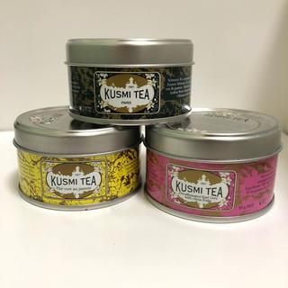 KUSMI TEA 25g 3缶セット(茶)