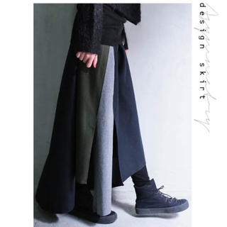 アンティカ(antiqua)の快斗様専用 antiqua  アンティカ 揺れ感の美しいアシメスカート(ロングスカート)