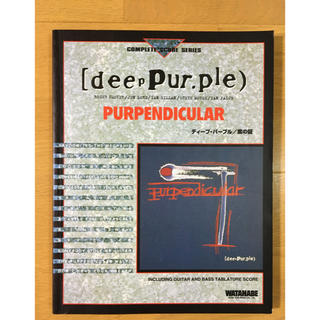 DEEP PURPLE  バンドスコア(ポピュラー)
