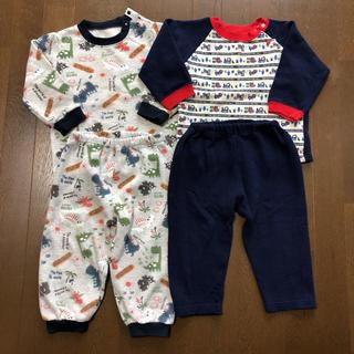 西松屋 - 長袖 あったか素材 パジャマ