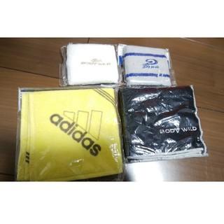 アディダス(adidas)のアディダス ハンカチ リストバンド 福袋(バングル/リストバンド)