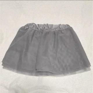 コムサコレクション(COMME ÇA COLLECTION)の美品コムサフィユ★ comme ca fossette★チュールスカート(スカート)