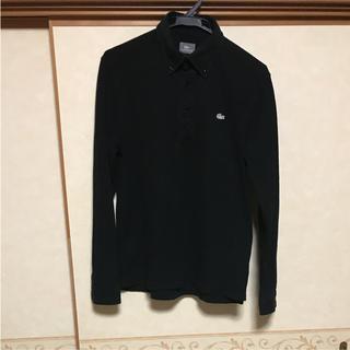 ラコステ(LACOSTE)の【早い者勝ち】 LACOSTE  ラコステ クラシック ポロシャツ ブラック(ポロシャツ)
