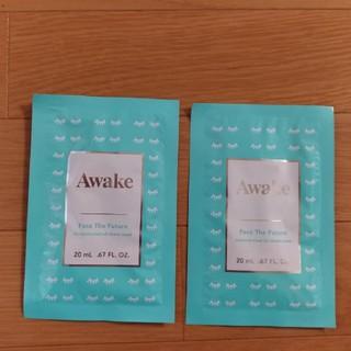 アウェイク(AWAKE)のアウェイク フェイスザフューチャー コンセンレイテッド オイルシートマスク(パック / フェイスマスク)
