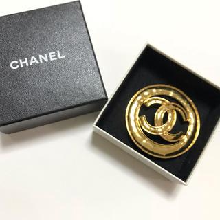 CHANEL - 超美品★CHANEL レア物 Big ココマーク ブローチ 大きい シャネル