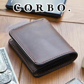 コルボ(Corbo)のコルボ リーブロ 二つ折り 財布 ワイン(折り財布)