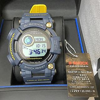 カシオ(CASIO)の⚜️未使用 国内正規 極美品 フロッグマン GWF-D1000NV-2JF(腕時計(デジタル))
