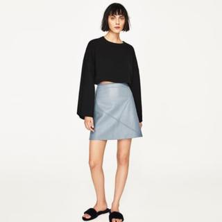 ZARA - ザラ アイスブルー  スカート