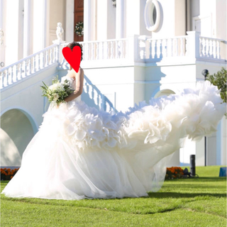 ヴェラウォン(Vera Wang)のvera wang ヘイリー ドレス US0 Hayley セカンドオーナー募集(ウェディングドレス)