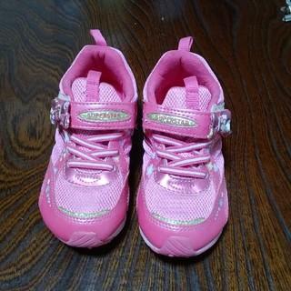 MOONSTAR  - 女児 スニーカー ムーンスター 18.5センチ 女の子 靴