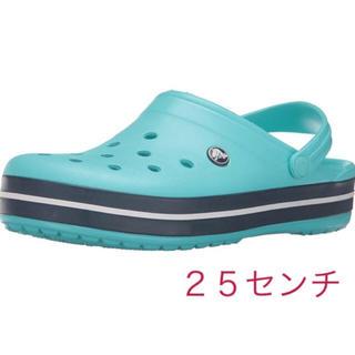 クロックス(crocs)のクロックス  25センチ  新品 (サンダル)