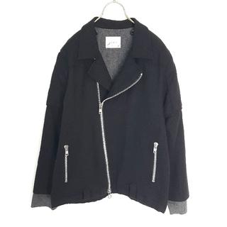 ウィズ(whiz)の日本製★WHIZ ウール ライダースジャケット(ライダースジャケット)