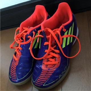 adidas - アディダスadidasフットサルシューズ20センチ☆サッカー運動靴上靴室内ナイキ
