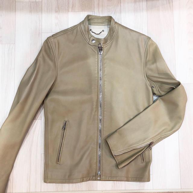 LOUIS VUITTON(ルイヴィトン)のルイヴィトン レザージャケット ライダース メンズ メンズのジャケット/アウター(レザージャケット)の商品写真