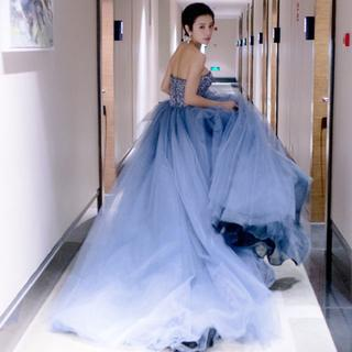 ウエディングドレス 二次会 結婚式ドレス 064