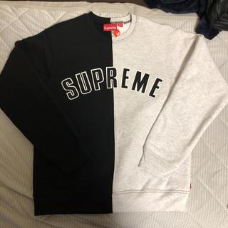 シュプリーム(Supreme)のSupreme  Split Crewneck Sweatshirt  (スウェット)