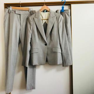 アクアスキュータム(AQUA SCUTUM)の【最終値下】アクアスキュータムスーツ3点セット【ジャケット パンツ スカート】9(スーツ)