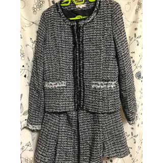 スカートスーツ 七五三  フォーマル セレモニー 大きいサイズ(スーツ)