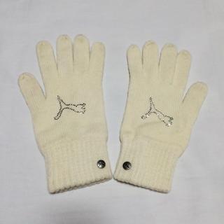 プーマ(PUMA)の【PUMA】ラインストーンロゴ手袋(手袋)