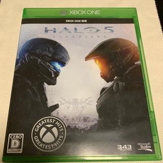 エックスボックス(Xbox)のしろ様専用 Halo 5とGTA5(家庭用ゲーム機本体)