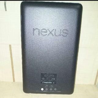 ネクサス7(NEXUS7)のNexus(タブレット)