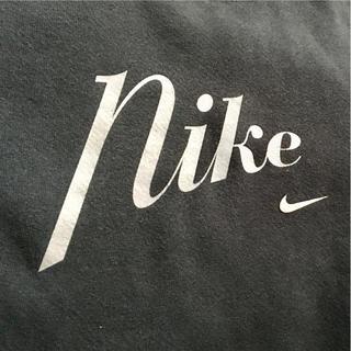 ナイキ(NIKE)のUSA製 90s vintage nike ナイキ スウェット 銀タグ S 黒(スウェット)