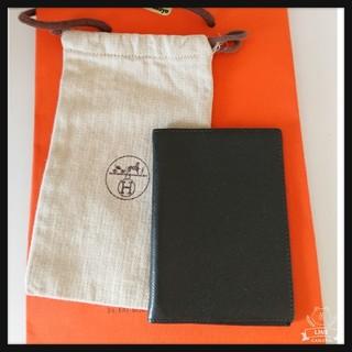 エルメス(Hermes)のHERMES【正規品】中古美品∮手帳カバー∮エプソンblack(手袋)