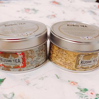 クスミティー  ロシアンブレンド アソートメント パック 各25g×2缶(茶)
