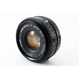 リコー(RICOH)の【美品】リコー RICOH Lens 52 1:2 50mm #346764(レンズ(単焦点))
