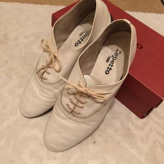 レペット(repetto)のレペット 白 40(ローファー/革靴)