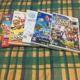 ウィー(Wii)のWiiのカセット(家庭用ゲーム本体)