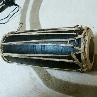民族楽器 マダール ネパール直輸入品 打楽器(パーカッション)