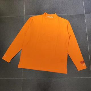 クロムハーツ(Chrome Hearts)のHeron Preston ヘロンプレストン 人気長袖シャツ 刺繍のロゴ(Tシャツ/カットソー(七分/長袖))