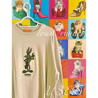 アイスバーグ(ICEBERG)の希少 90s Lord runner BIG Tシャツ(Tシャツ/カットソー(七分/長袖))