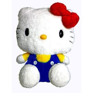 ハローキティ(ハローキティ)のハローキティ( Hello Kitty)モフモフぬいぐるみ レッドリボン 特大(ぬいぐるみ)