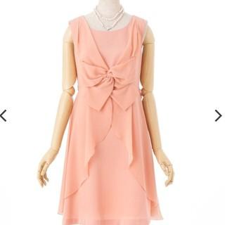 ストロベリーフィールズ(STRAWBERRY-FIELDS)のストロベリーフィールズグレース♡シフォンレイヤードドレス(ミディアムドレス)