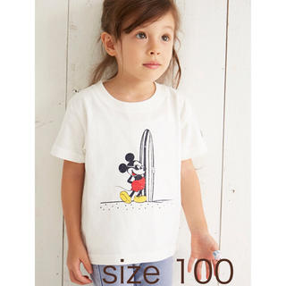 ALEXIA STAN Kids Surf Mickey Tee 100