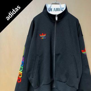 アディダス(adidas)のアディダス 【90s】 ワンポイントロゴ トラックトップ スウェット パーカー(ジャージ)