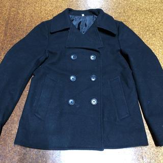ウール コート Pコート ブラック M (ピーコート)