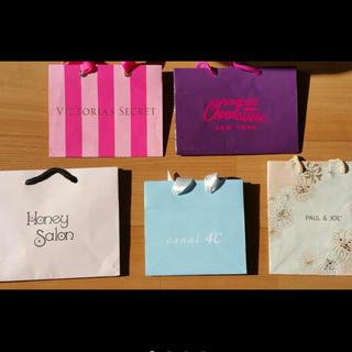 ヴィクトリアズシークレット(Victoria's Secret)のミニミニショップバッグセット(ショップ袋)