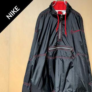ナイキ(NIKE)のナイキ 【90s】 ビッグロゴ ナイロンジャケット パーカー スウェット(ナイロンジャケット)