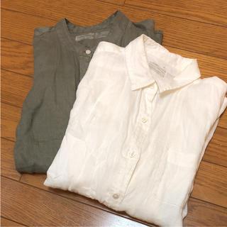 ムジルシリョウヒン(MUJI (無印良品))の無印良品シャツ(シャツ/ブラウス(長袖/七分))