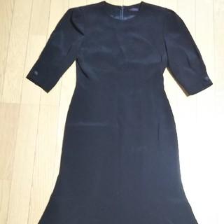 ユキトリイインターナショナル(YUKI TORII INTERNATIONAL)の人気 YUKI TORII ブラックフォーマル ワンピース/サイズ36(スーツ)
