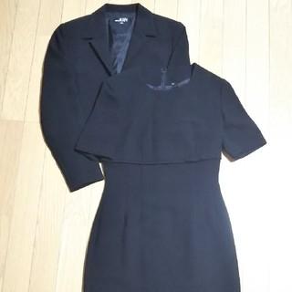 人気 IGIN 東京イギン /ブラックフォーマル ワンピーススーツ/サイズ7(スーツ)