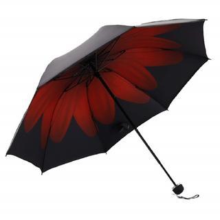 折りたたみ傘  晴雨兼用 遮光 遮熱 UPF50 UV 紫外線 99% カット (日用品/生活雑貨)