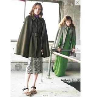 リリーブラウン(Lily Brown)の未使用 タグ付き リリーブラウン lilybrown コート ケープコート(ポンチョ)