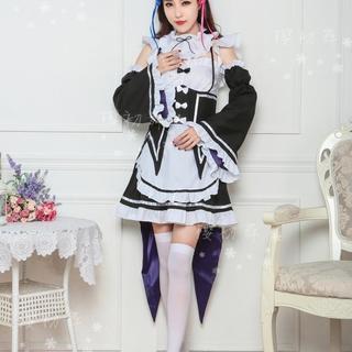 新品』Re:ゼロから始める異世界生活 メイド服 コスプレ衣装(その他)