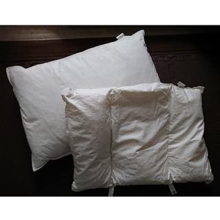 羽根枕・パイプ枕セット(枕)