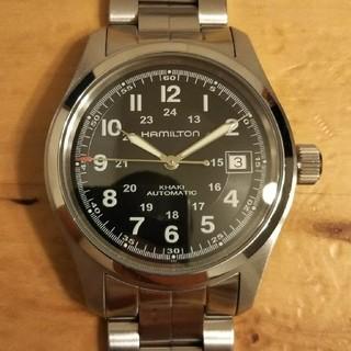 ハミルトン(Hamilton)のハミルトン カーキ フィールド H704450 自動巻(腕時計(アナログ))